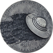 3000 Francs CFA  (Roswell Incident) – obverse
