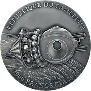 3000 Francs CFA (Vostok) – obverse