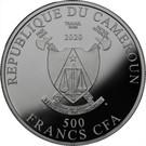 500 Francs CFA (Year of  the Rat) – obverse