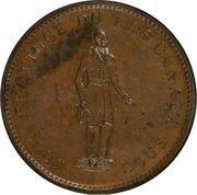 1 Penny / 2 Sous (Quebec Bank) -  obverse
