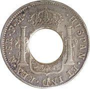 5 Shillings - Charles IIII (Holey Dollar) – reverse