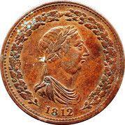 1 Penny token (Thomas Halliday) – obverse