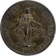 2 Penny (Lesslie & Sons) – obverse