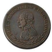 1 Penny Token (Field Marshal Wellington ) – obverse