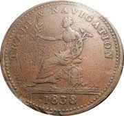 1 Penny Token (Trade & Navigation) – reverse