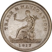 1 Penny (Non-local/Trade & Navigation) – obverse