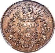 ½ Penny Currency (F. McDermott) – obverse