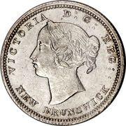 5 Cents - Victoria – obverse