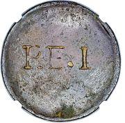 1 Penny (P.E.I Uniface - McCausland) – obverse