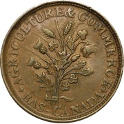 1 Sou (Belleville - 16 cherry leaves / 4 shamrocks) – obverse