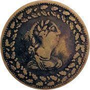 ½ Penny (Imitation Tiffin Token) – obverse
