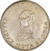 ½ Penny - Halifax  (Captain Broke long bust - Britannia) – obverse