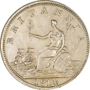 ½ Penny - Halifax  (Captain Broke long bust - Britannia) – reverse
