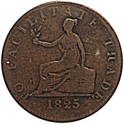 1 Penny (British Colonies) – reverse