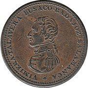 1 Penny  (Wellington - Cossack) – obverse