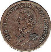 ½ Penny (The Illustrious Wellington - Waterloo) – obverse