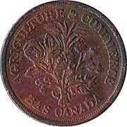 1 Sou (Banque du Peuple - Crown with oak leaves) – obverse