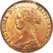 1 Cent - Victoria – obverse