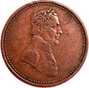 ½ Penny (To Facilitate Trade) – obverse