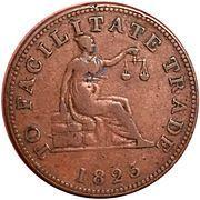 ½ Penny (To Facilitate Trade) – reverse