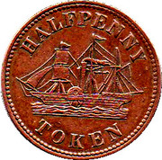 ½ Penny (Fisheries & Agriculture) – obverse