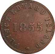 ½ Penny (Prince Edward Island - Self government and free trade) – obverse
