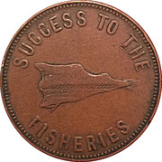 ½ Penny (Speed the Plough) -  obverse