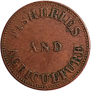 1 Cent (Fisheries and Agriculture ) – reverse
