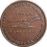½ Penny - (Lesslie & sons tokens) – reverse