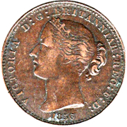1 Penny  - Victoria – obverse