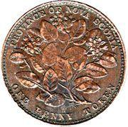 1 Penny  - Victoria -  obverse