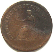 ½ Penny  (Genuine British Copper) – reverse