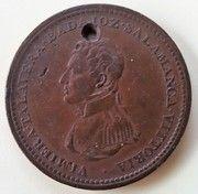 1 Penny Token (Wellington Peninsular token to Vittoria) – obverse