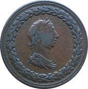 ½ Penny (Thomas Halliday) – obverse