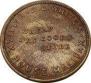 1 Farthing (W.L. White's Halifax House) – reverse