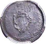 ½ Penny (Imitation Nova Scotia - George III / Harp) – reverse