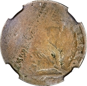 ½ Penny (BITIT Token) – reverse