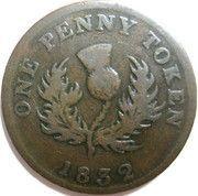 1 Penny - George IV – reverse