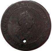 ½ Penny - (Hosterman & Etter) – obverse