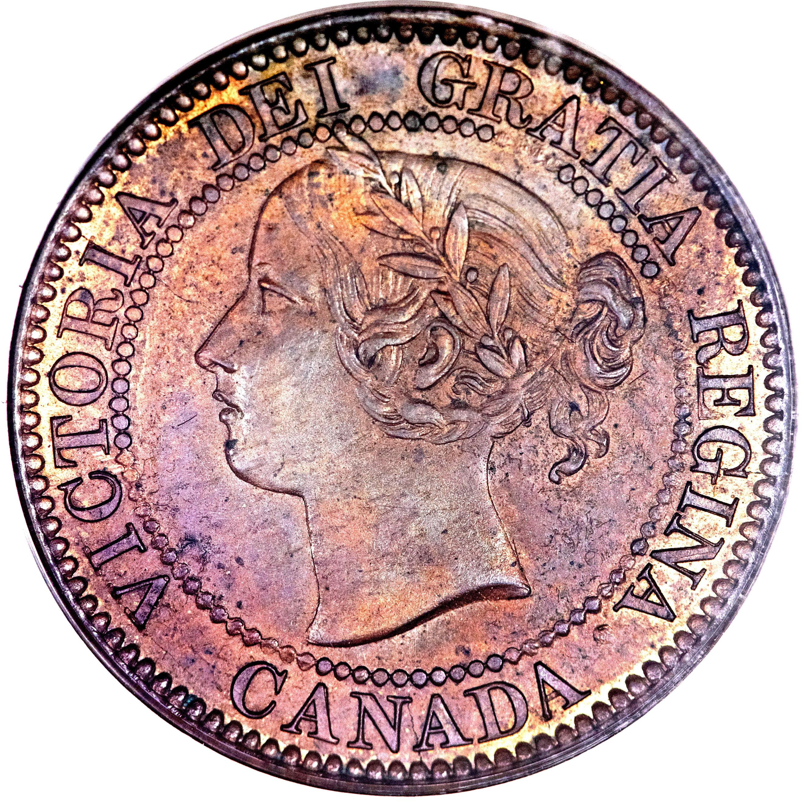 1 Cent - Victoria - Canada – Numista