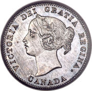 5 Cents - Victoria -  obverse