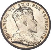 10 Cents - Edward VII -  obverse