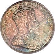 25 Cents - Edward VII -  obverse