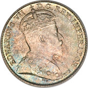 5 Cents - Edward VII -  obverse