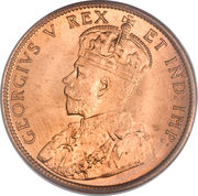 1 Cent - George V (without