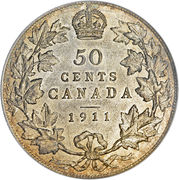 50 Cents - George V (w/o