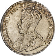 50 Cents - George V -  obverse