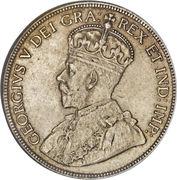 50 Cents - George V -  obverse