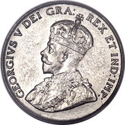 5 Cents - George V -  obverse