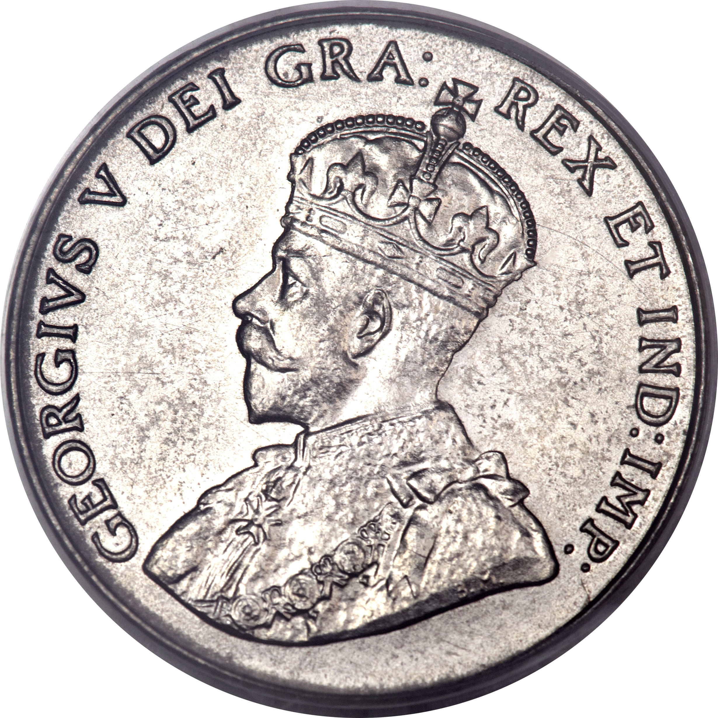 5 cents  ~ GEORGE V ~ F15 Condition ~ REPRICED!!! 1929 Near S ~ CANADA NICKEL